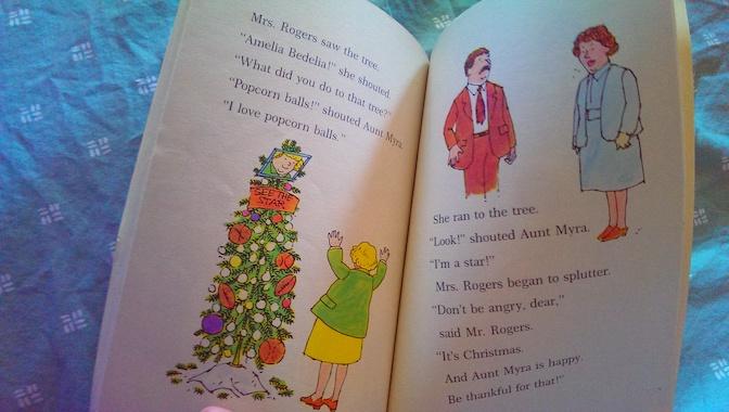 Merry Christmas Amelia Bedelia Aunt Myra