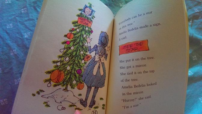 Merry Christmas Amelia Bedelia Tree Star
