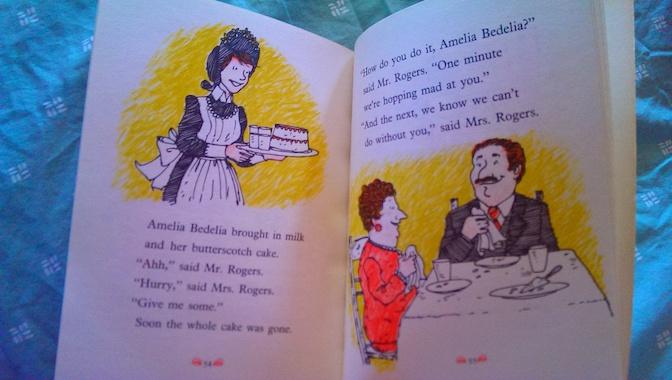 Good Work Amelia Bedelia Butterscotch Cake.jpg