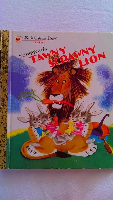TawnyScrawnyLion